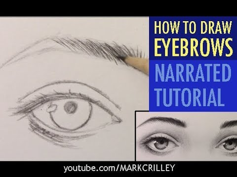 How To Draw Eyebrows [Narrated Tutorial]