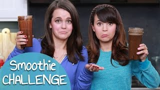 I got a lot of requests to do the Smoothie Challenge with my sister Mo! Let us know down below what other videos you would like ...