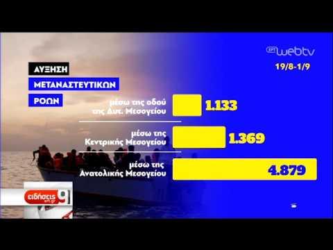 Μεταναστευτικό: Πρόταση Ελλάδας, Κύπρου, Βουλγαρίας για ευρωπ. μηχαν. μετεγκατάστασης|08/10/19|ΕΡΤ