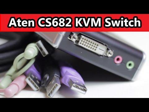 Mac und PC an der selben Peripherie (Aten CS682 KVM Switch) (Deutsch German)