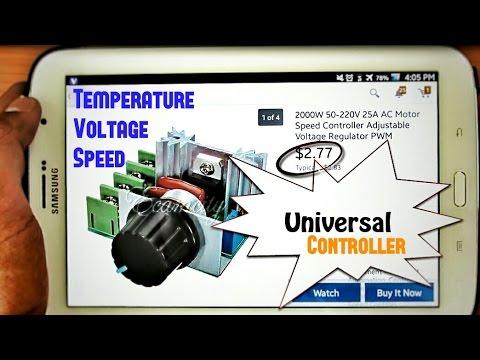 Ac Motor Speed Control Circuit | AC Voltage Regulator