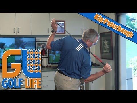 Kip Puterbaugh Golf Tip   Proper Impact Position