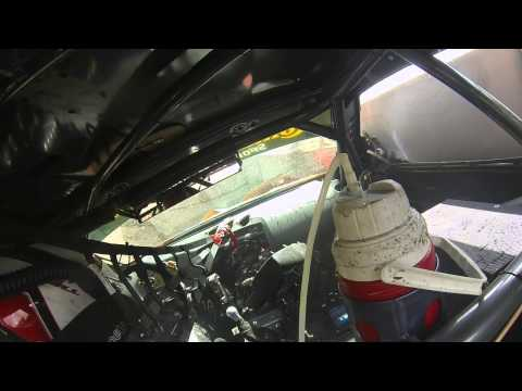 In-car video of a brake failure at 154 mph