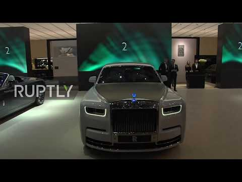 Geneva Motor Show 2019  Rolls-Royce