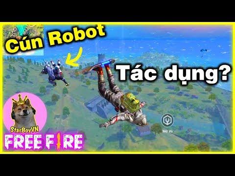 [Free Fire] Bé Cún Robot 200