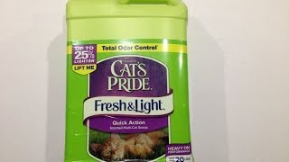 Cat's Pride Fresh and Light Multi-Cat Premium Clumping Litter Review