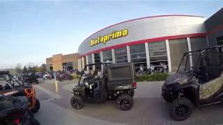 3. 2018 Honda Pioneer 1000 5 DLX Camo - New SxS for sale - Lakeville, MN 55044