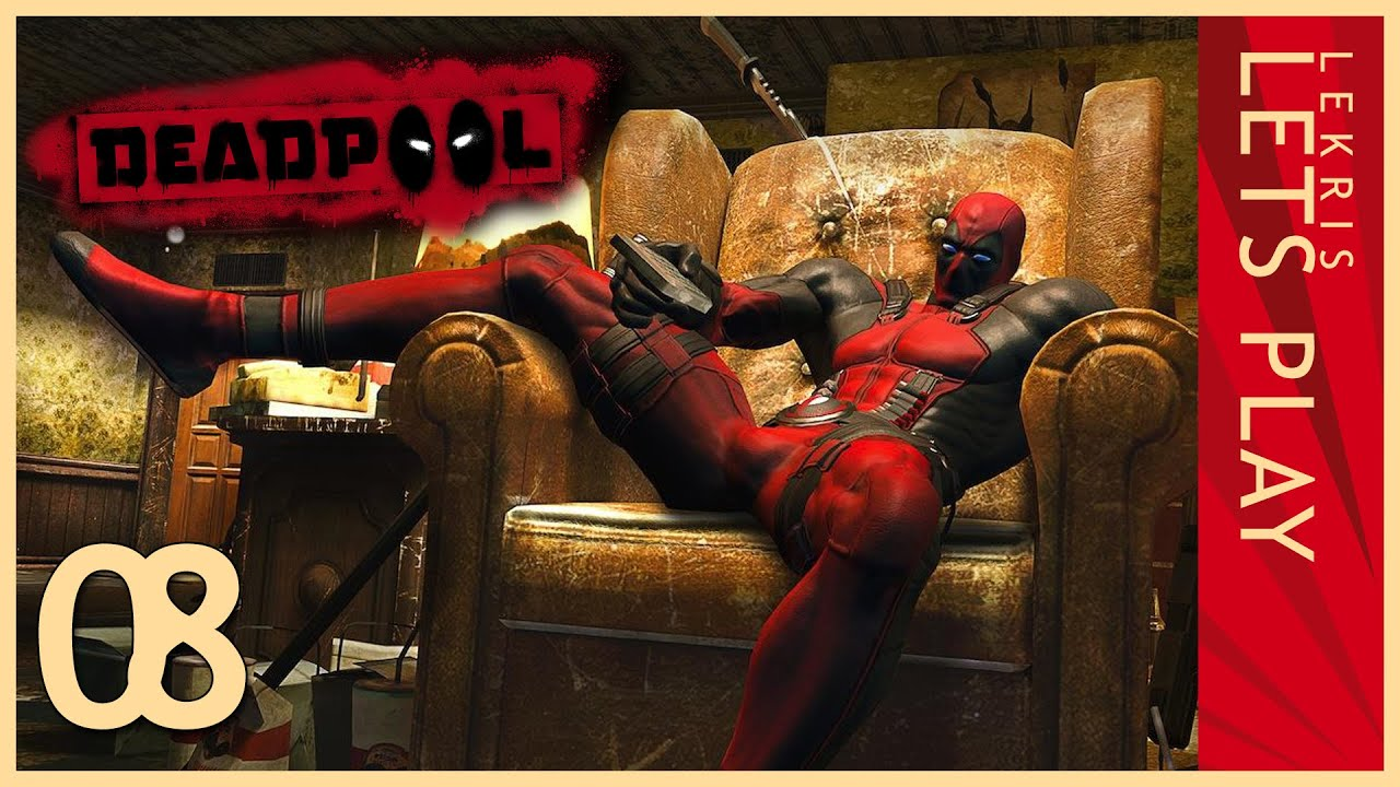 Deadpool #08 - Sentinel-Whirlpool with chicks  - Let's Play Deadpool | HD