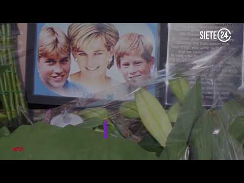 Recuerdan a la Princesa Diana, a 20 años de su muerte