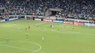 Willian marca o gol de empate 1X1 logo no começo do 1°tempo. E tinha mais!