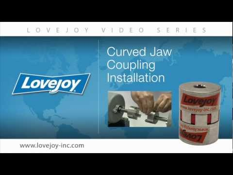 Lovejoy Standard Curved Jaw (CJ) Coupling Installation Video thumbnail