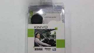 Kinivo BTC450 Bluetooth Hands-Free Car Kit for Cars with Aux Input Jack (3.5 mm) Review