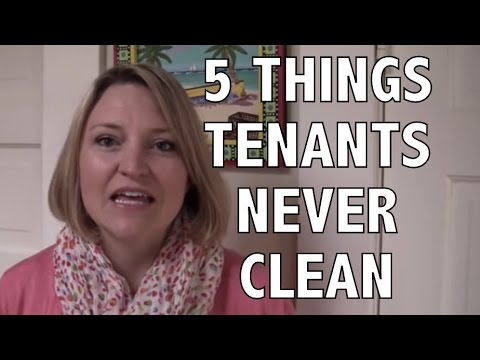 Tenant Inspections: 5 Things Tenants Never Clean When Moving Out