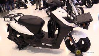 8. 2016 Kymco Agility Carry 125 - Walkaround - 2015 EICMA Milan