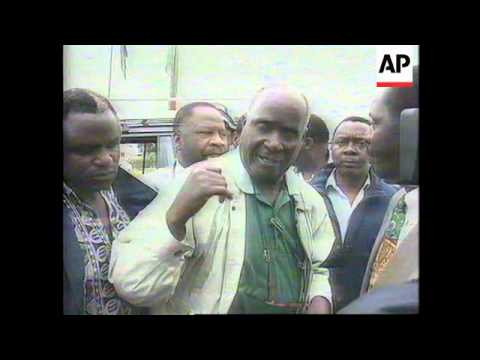ZAMBIA: FORMER PRESIDENT KENNETH KAUNDA ARRESTED