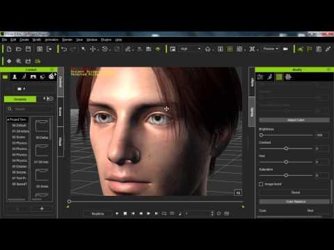 Daz to iClone 6 Tutorial – Importing Daz Genesis 2 Characters to iClone
