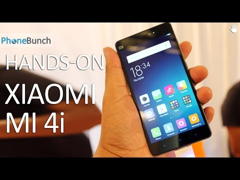 Xiaomi Mi 4i (Mi4i) Hands-on Overview and First Impressions