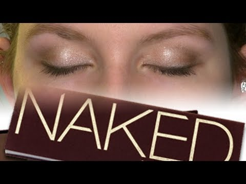 Natural Makeup for Teenagers/Beginners | Urban Decay Naked Palette