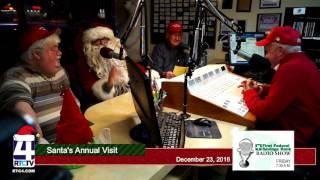 First Federal Savings Bank Annual Visit from Santa