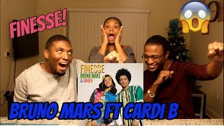 image of Bruno Mars - Finesse (Remix) [Feat. Cardi B] [Official Video] (REACTION)