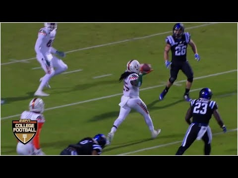 Miami Hurricanes Pull Off 8-lateral Miracle To Beat Duke - October 31, 2015 | ESPN Archives