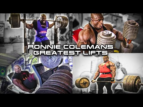 Ronnie Coleman Greatest Lifts EVER | Compilation