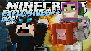 Minecraft | EXPLOSIVES ++ MOD! (The Greatest TNT EVER!!) | Mod Showcase