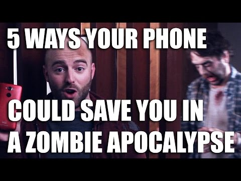 5 Ways A Phone Can Save You In The Zombie Apocalypse [Sponsored]