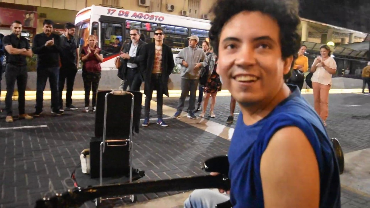 Stairway to Heaven – electric and acoustic guitar version – On the Street – Cover