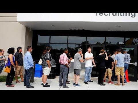 ΗΠΑ: Άνοδος απασχόλησης και αποδοχών