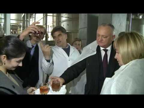 Șeful statului întreprinde o vizită de lucru în orașul Soroca