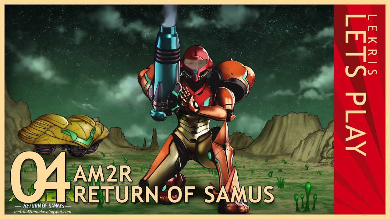 Let's Play AM2R - Return of Samus 1.0 Full Version #04 - Arachnus