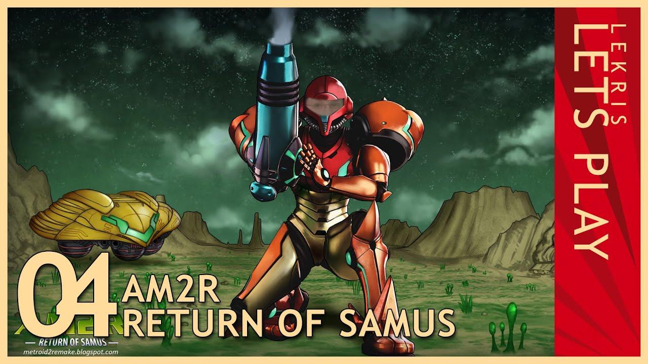Let's Play AM2R - Return of Samus 1.0 Full Version #04 - Arachnus