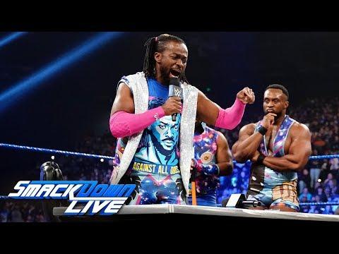 Kofi Kingston and Daniel Bryan sign their WrestleMania contract: SmackDown LIVE, April 2, 2019