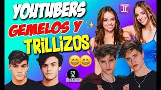 Video ¡YOUTUBERS QUE SON GEMELOS, CUATES Y HASTA TRILLIZOS! - 52 Rankings :D MP3, 3GP, MP4, WEBM, AVI, FLV September 2019