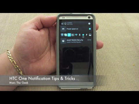 notification - In this video I show you a couple tips that I use on my HTC One notification screen. I hope it helps and like the video. Update: You can press & hold the pow...