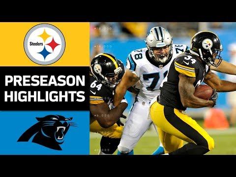 Steelers vs. Panthers | NFL Preseason Week 4 Game Highlights - Thời lượng: 5:09.