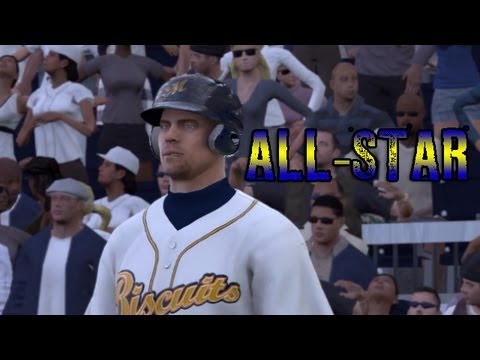 @TwoBrosGaming | MLB 13 The Show: RTTS - 1B Hu The Journeyman Gets Selected To The All-Star Team