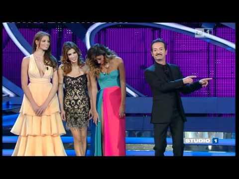 Gli abiti delle bellezze di Sanremo 2012 видео