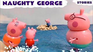 Peppa Pig for kids children toy story Naughty George Thomas And Friends Toys Pepa TT4U