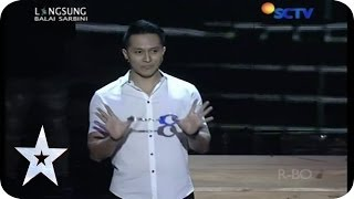 Download Video Demian and His Magic Trick - Guest Star - SEMIFINAL 2 - Indonesia's Got Talent MP3 3GP MP4