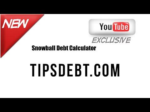 TipsDebt.com-What is Snowball Debt Calculator?