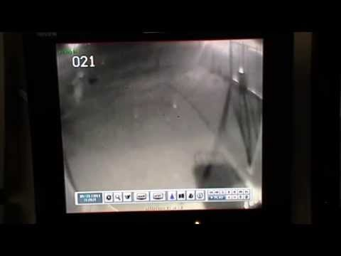 Police Department Ghost Caught on Film