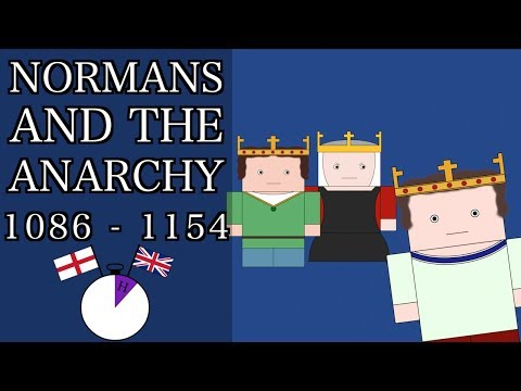 Ten Minute English and British History #09 - The Normans and the Anarchy