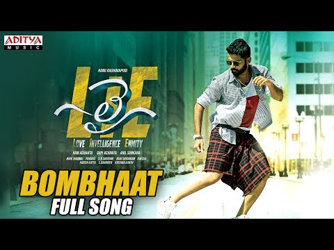 Bombhaat Full Song | Lie Songs | Nithiin , Megha Akash | Mani Sharma