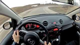 2012 Mazda2 - WINDING ROAD Quick Drive