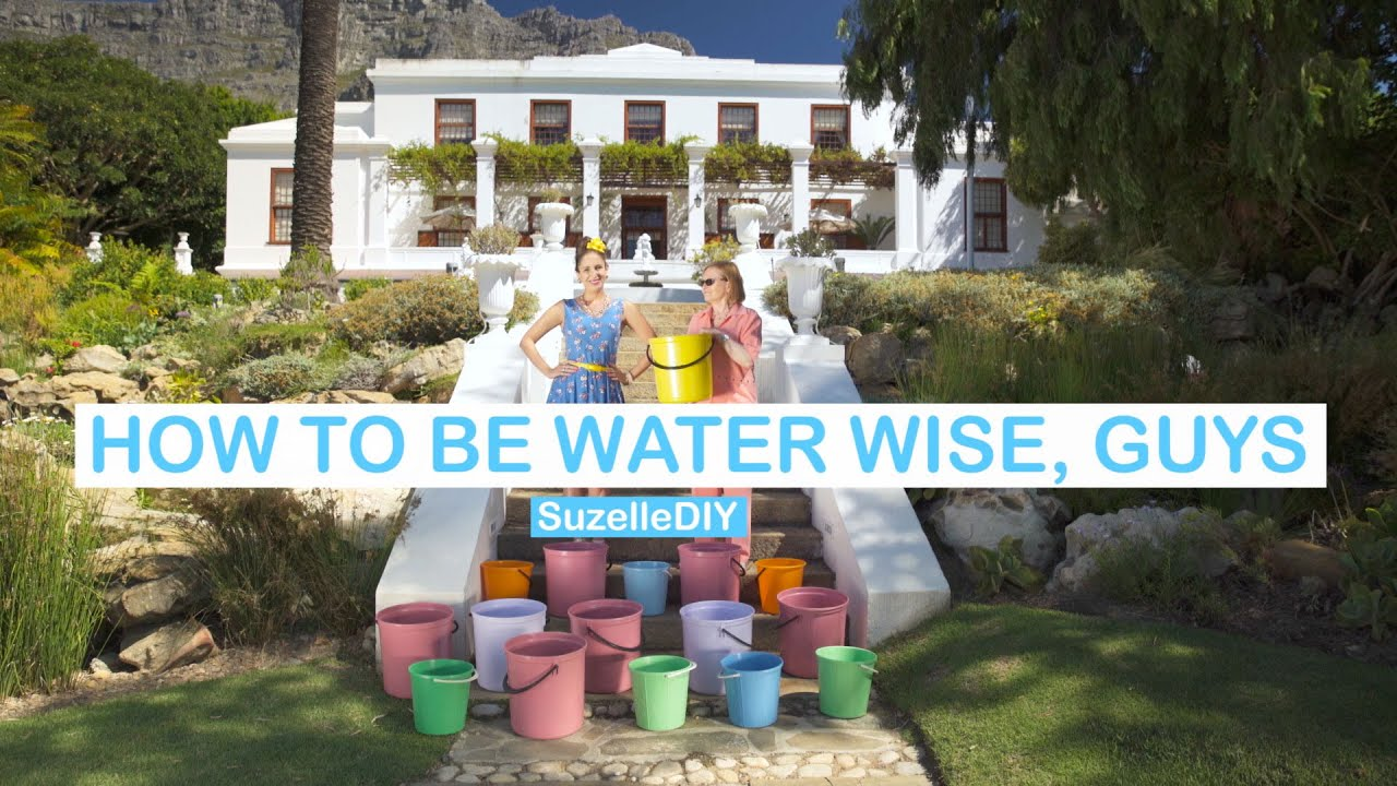 How to be Water Wise, Guys-graphic