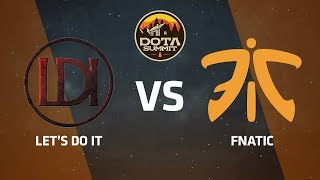 Let's Do It против Fnatic, Вторая карта, DOTA Summit 9 LAN-Final