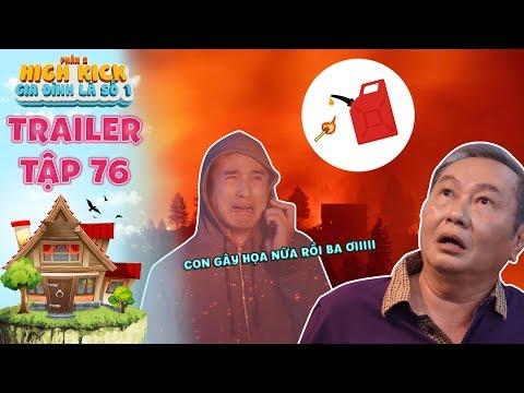 Gia đình là số 1 Phần 2| trailer tập 76: Ông Tài tái mặt vì Minh Ngọc tiếp tục gây họa đốt rừng - Thời lượng: 3 phút và 19 giây.