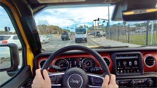 2020 Jeep Wrangler Rubicon EcoDiesel POV Drive (On Road) by MilesPerHr